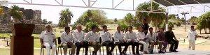 Presidente Calderón en Tulum