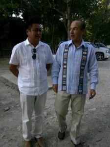 Felipe Calderon Cenote Dos Hojos Mario Cruz