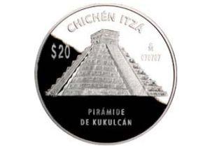 Monedas Chichen Itza