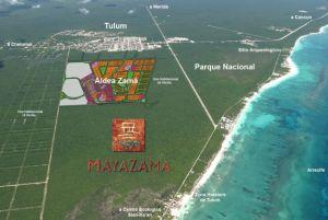 Localizacion Maya Zama Imagen