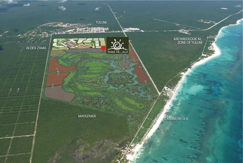 Urbanización en Tulum Avanza para Aldea Zama – Tulum Real Estate Properties