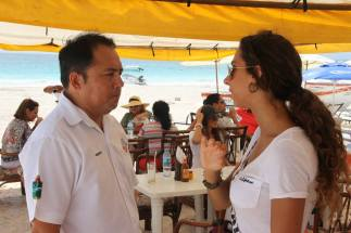 Martin Cobos V. Presidente Muncipal de Tulum